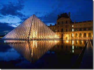Музей Лувр в Париже. Достопримечательности Франции
