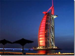 отель Бурж Аль Араб 7 звезд