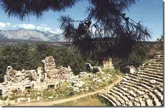 амфитеатр фазелиса