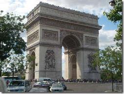 Достопримечательность Парижа - Триумфальная Арка