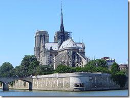 Собор Парижской Богоматери - достопримечательность Парижа