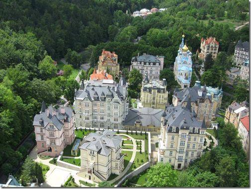 Карловы Вары – город курорт Чехии