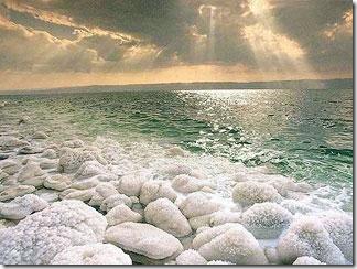 соленое мертвое море