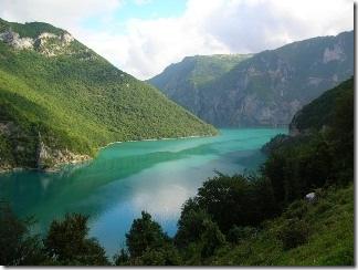 каньон в Черногории