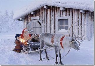 родина Санта Клауса в Финляндии