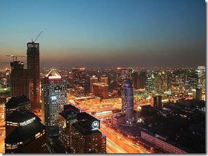 пекин ночью