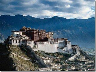Лхасу столица Тибета