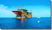 Туристы будут жить на нефтяной вышке