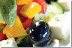 деревенский салат греческой кухни