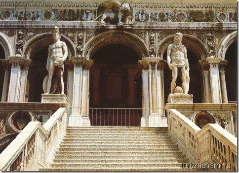 Лестница Гигантов, Венеция, Дворец Дожей