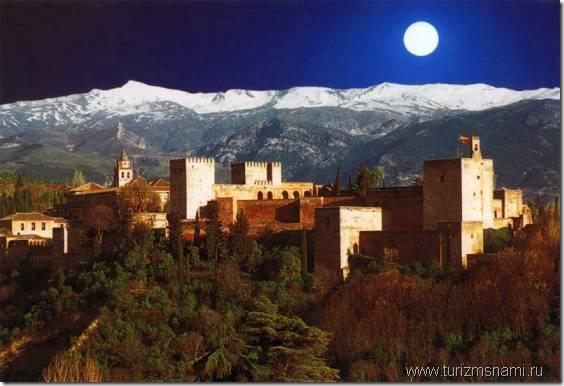 Альгамбра - жемчужина Гранады