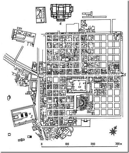 Генеральный план Тимгада