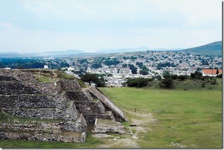 Достопримечательности Мексики. Древний город тольтеков Туле.