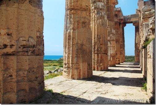 храмы в Селинунте