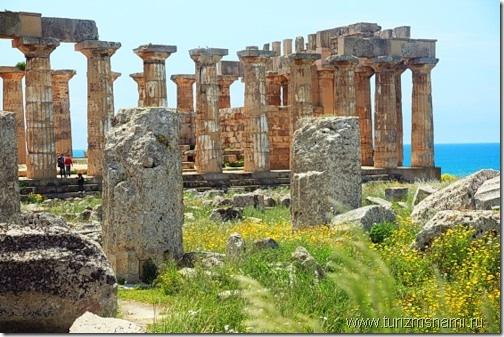 Храмы Греции в Селинунте