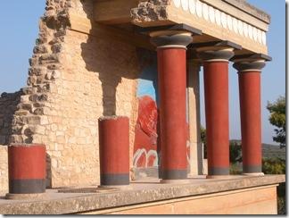 Греческий остров Крит — Минойский Дворец Кносса