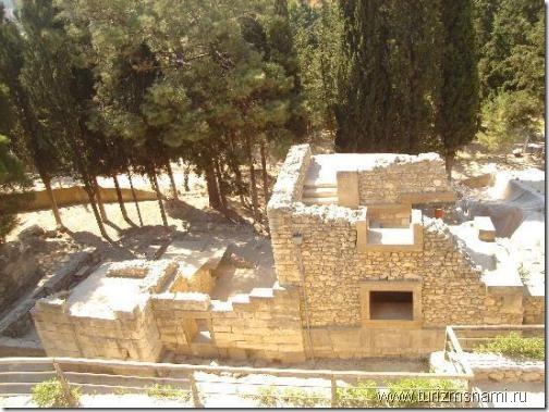 Дворец Кносса на Крите