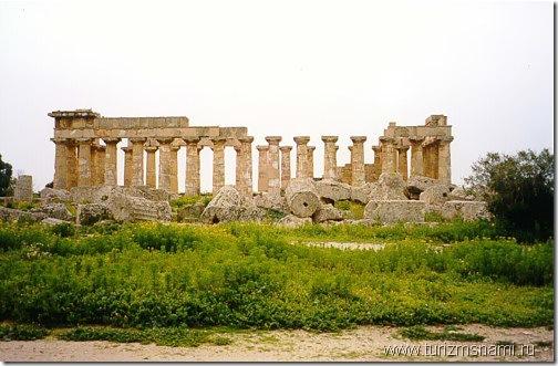 Греческие храмы на южном побережье Сицилии