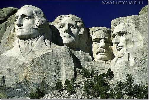 """Монумент """"Лица президентов США"""""""