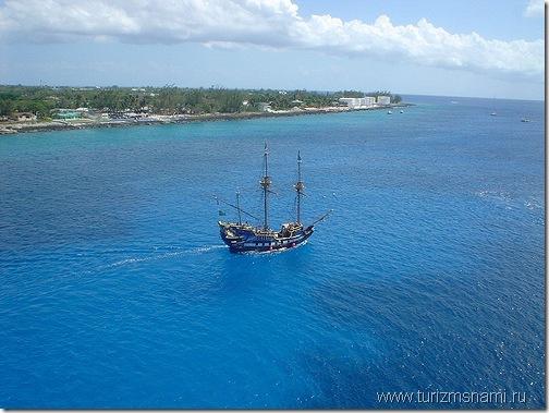 море вокруг Каймановых островов