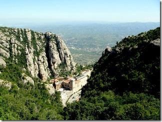 Знаменитый Монастырь Монсеррат. Достопримечательности Каталонии.