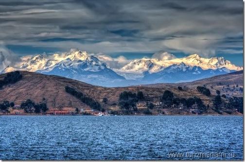 Озеро Титикака в Перу