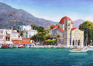 Греческий остров Эгина — древний соперник Афин