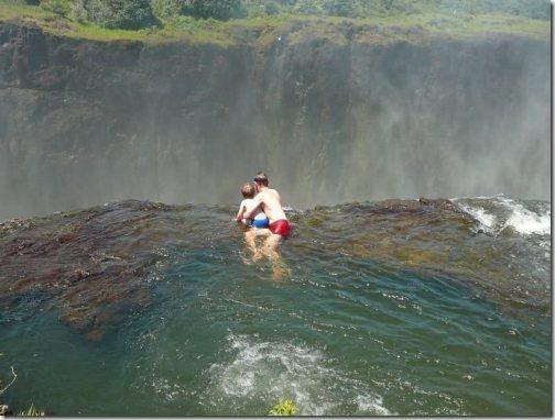 Купель Дьявола, водопад Виктория