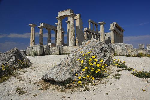 древний остров Эгина