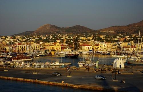Греческий остров Эгина