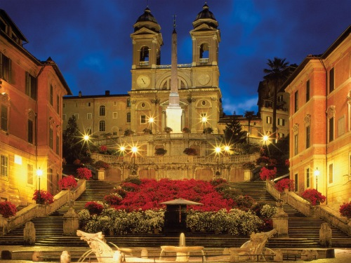 Рим. Испанская лестница