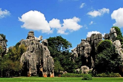 Китайский каменный лес Шилинь