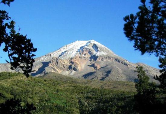 Самый высокий вулкан Северной Америки Орисаба