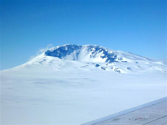 Самый высокий вулкан Антарктиды Сидлей