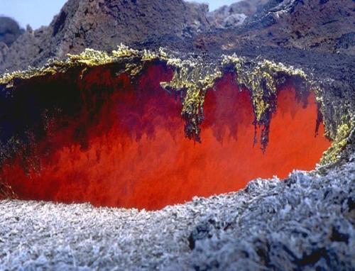 печь вулкана Этна