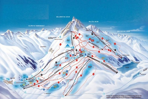 Лыжные трассы Гальтюр