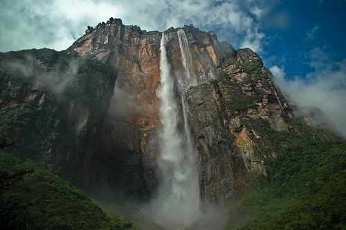 Анхель, водопад