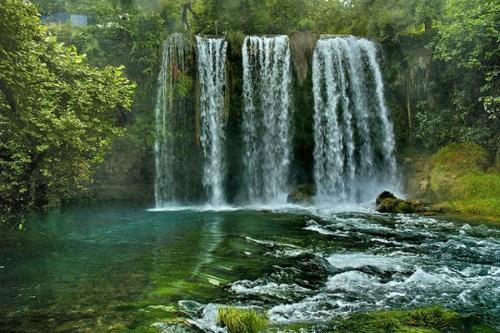 Дюден водопады