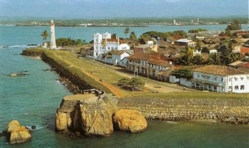 Форт Галле на Шри-Ланке
