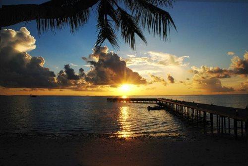 Закат, Мальдивские острова
