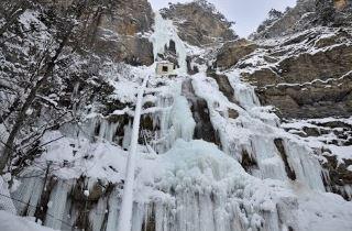 Учан-Су зимой