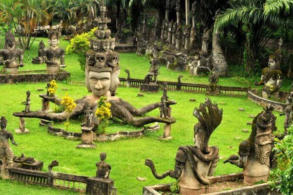 Фото: Будда-парк в Лаосе