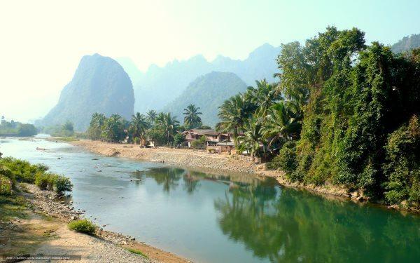 Фото: природа Лаоса