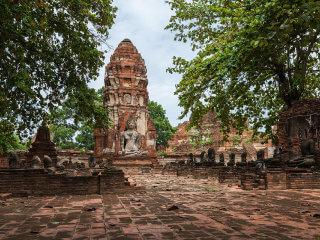 Аюттхая -  древний город достопримечательность Таиланда